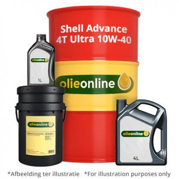 shell advance 4t ultra 10w 40 synthetic motor oil for. Black Bedroom Furniture Sets. Home Design Ideas