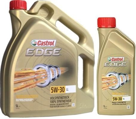 castrol edge 5w30 ll motor oil volkswagen audi seat skoda. Black Bedroom Furniture Sets. Home Design Ideas