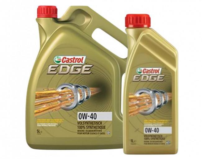 castrol edge 0w40 synthetic motor oil bmw porsche. Black Bedroom Furniture Sets. Home Design Ideas