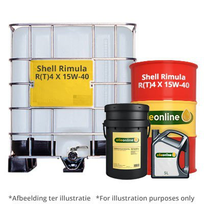Shell Rimula RT4 X 15W 40