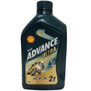 Shell Advance Ultra 2T 1 Liter bottle
