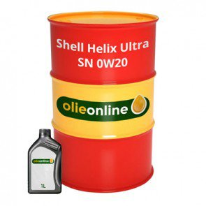 Shell Helix Ultra SN 0W20